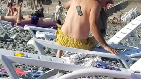 Hilarious!! Old Man can't find his phone