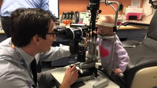 Adalia Rose gets her checkup at Boston Children's Hospital - Video