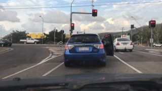 Townsville Dash Cam Crash by Police Evader - Video