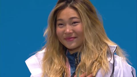 Chloe Kim Gets Gold Medal