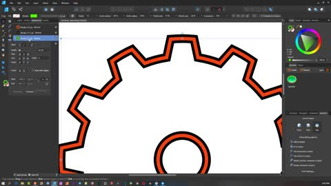 Affinity Designer Basics - Part 6 of 6 - The Studio Menu and Tool Bar ( 6 of 6 )