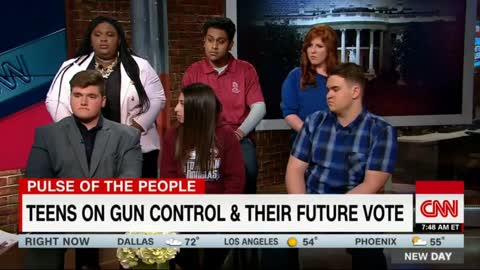Conservative Student Defends Second Amendment in CNN Interview