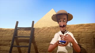 The Egyptian Pyramids - Funny Animated Short Film