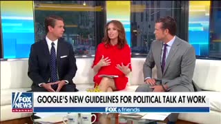 """""""Fox & Friends"""" discussion on Google guidance"""