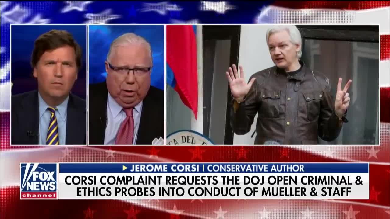 Michael Berry - Corsi to Tucker: Mueller wanted me to lie