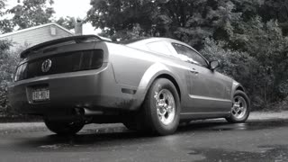 Bad Wolf Turbo Mustang 4.0 V6 - Camera mount and audio/video test.