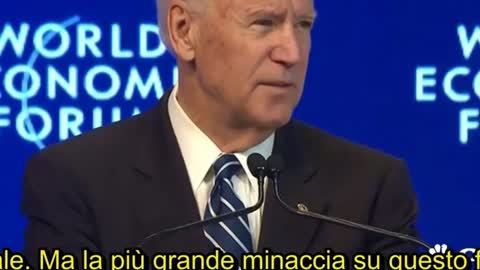 BIDEN E' IL NWO VIDEO BANNATOMI SU YOUTUBE LO METTO SU PATREON PER CHI VUOLE