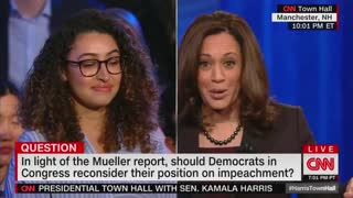 Kamala Harris calls for impeachment