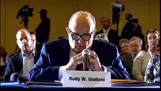 Giuliani Lays Out the Entire Case Against Biden