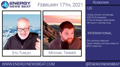 Daily Energy Market Show 2-17-2021