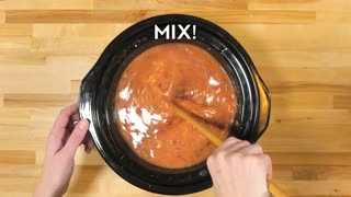 Slow cooker lasagna soup - Video