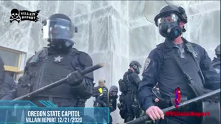 Patriot Groups Get Pushed Out Of Oregon Capitol Building By Oregon State Patrol