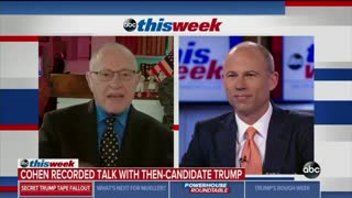 Avenatti refuses to answer critical question about Trump tapes posed by Alan Dershowitz