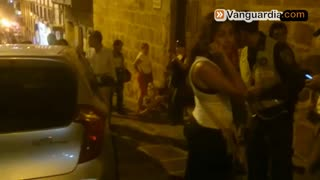 Accidente en San Gil, Santander - Video