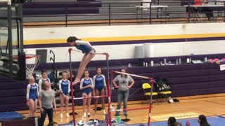 Gymnastics Ft. Pierre bars Athena