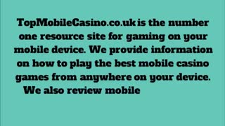 top mobile casino - Video