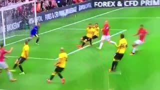 VIDEO: GOOOAL!! Rashford scores vs Watford. 1-1 - Video