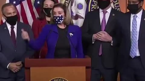 Nancy Pelosi is pissed Trump was acquitted and loses her shit