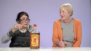 Watch Grandmas Try Fireball Whisky For the First Time - Video