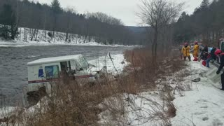 United States Postal Vehicle Retrieved From River