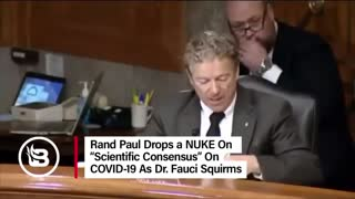 Rand Paul drops facts about covid!