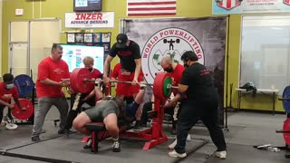 661 bench press attempt