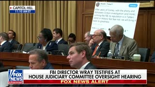 FBI Director Refuses to Say Whether Trump Can Obstruct Justice as President - Video