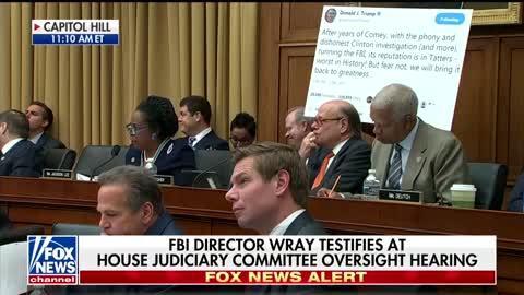 FBI Director Refuses to Say Whether Trump Can Obstruct Justice as President