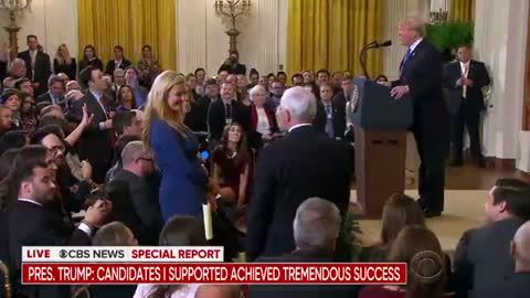 Trump asks Pence during WH press conference to be his 2020 running mate