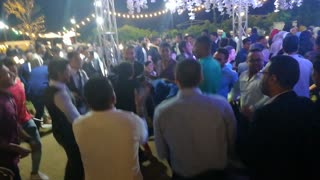 Egyptian Wedding Traditional Dance On Shaaby Songs