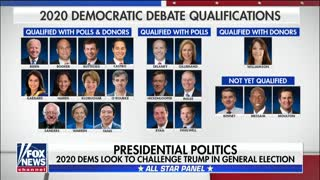 The 2020 candidates working to qualify for Democratic presidential debate