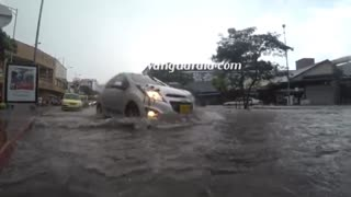 Video inundación Bucaramanga