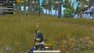 Pubg Mobile Game Great UMP9 Weapon Player with Full Tactics