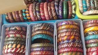 Making Bangles Indian Style - Video