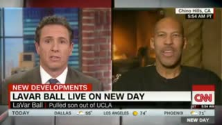 LaVar Ball Sent Trump Red, White & Blue Shoes to 'Show Him That We're Patriotic,' But - Video