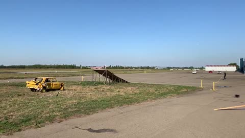 Russian Car-Plane Can't Get off the Ground