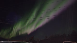 Amazing Aurora Borealis in Canada - Video