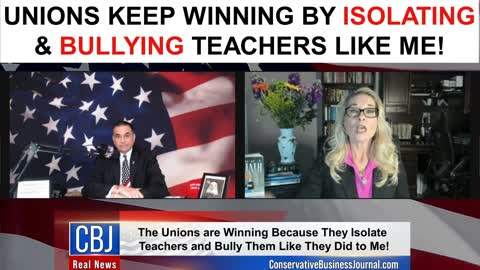 Unions Keep Winning By Isolating & Bullying Teachers Like Me!
