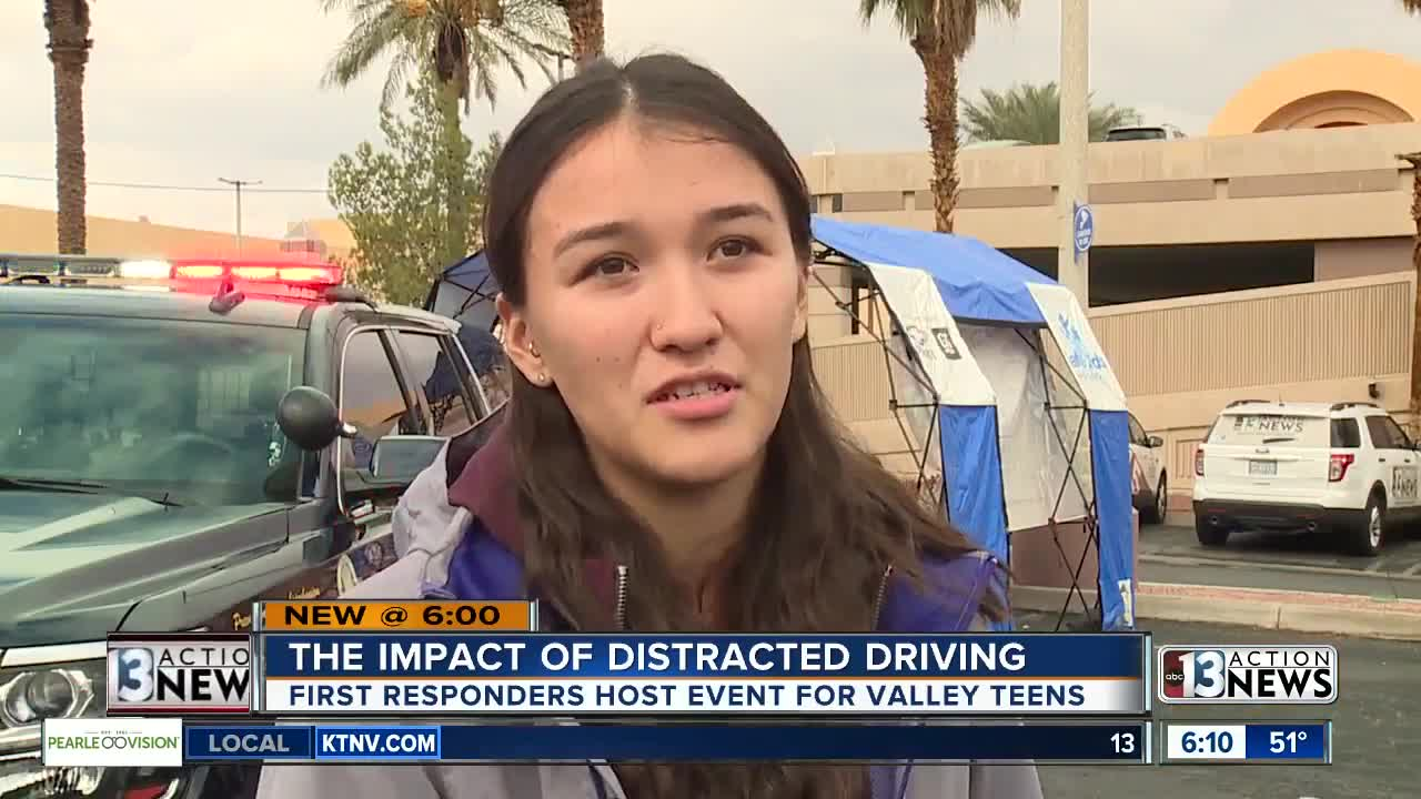 Lesson for teen drivers