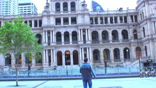 A leisure walk to Treasury Casino from Southbank Brisbane Australia