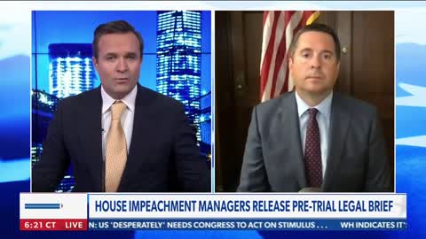 Nunes: Democrats trying to create the facade of insurrection to impeach President Trump
