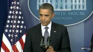 Five Years Later: How Barack Obama Reacted to the Sandy Hook Elementary School Shooting - Video