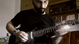 John Petrucci: Glasgow Kiss (Vladko Simonovski cover) - Video