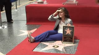 Sally Field Gets Star On Walk Of Fame - Video