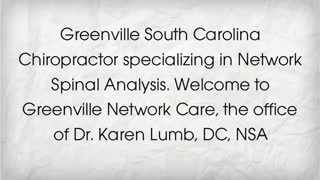 greenville sc chiropractor - Video