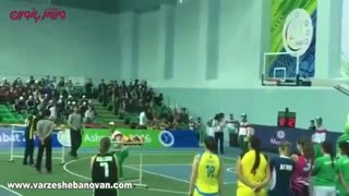 Delaram Vakili, An Iranian Basketball Player - Video