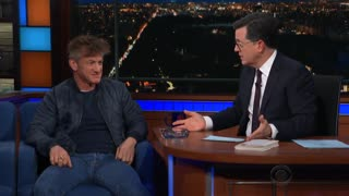 Sean Penn discusses bizarre dystopian novel - Video