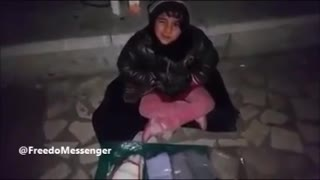 Forgotten Children Iran - poverty and cold weather - Video