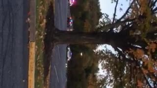 Police Chase in The Harrisburg Mall Parking Lot