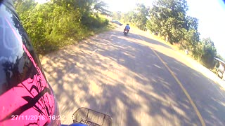 Motorcycle Accident Leaves Two Injured - Video